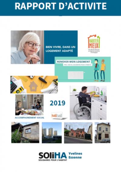 Rapport d'activité SOLIHA Yvelines Essonne 2019